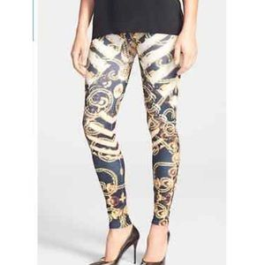 *Arthur George/R. Kardashian Metallic Leggings
